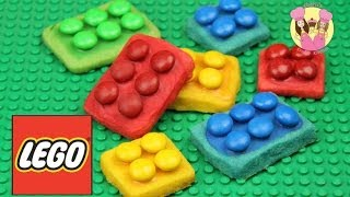 MAKE LEGO COOKIES - Inspired By The Lego Movie - Using 3 Ingredient Cookie Dough