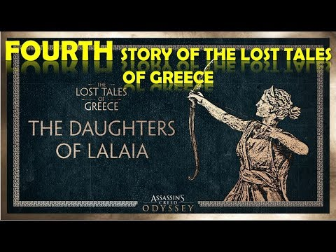 Assassins Creed Odyssey Fourth Story of The Lost Tales Of Greece | The Daughters of Lalaia thumbnail