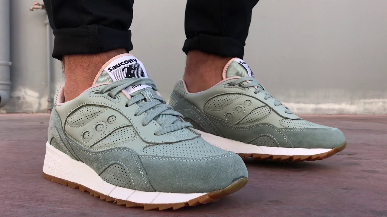 buy popular 74fec 12703 Saucony Shadow 6000 HT Lead Grey | Cosmos Sport