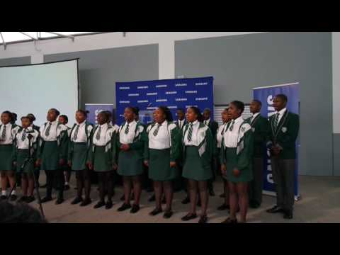 Samsung EVP at Masibambisane High School, Delft, Cape Town, South Africa