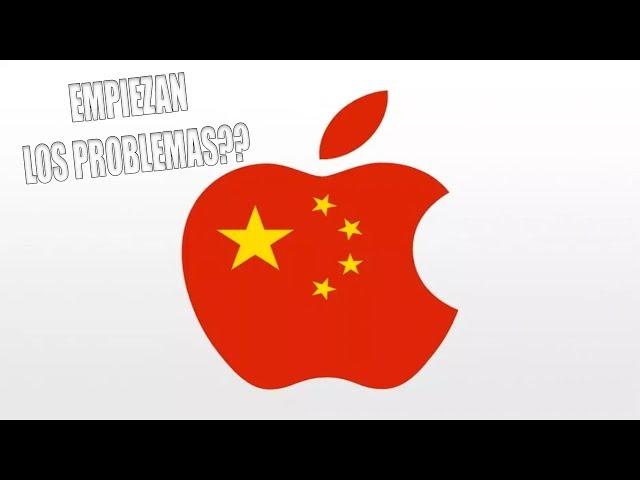 APPLE PIDE QUE NO SE SUBAN ARANCELES CON CHINA 🇺🇸🇨🇳