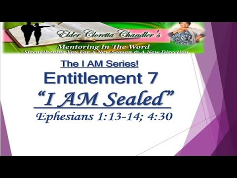 The I AM Series, Entitlement 7 -