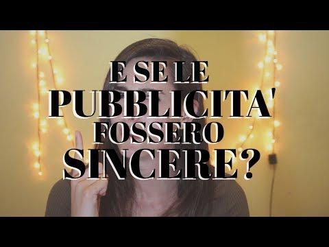 PUBBLICITA' SINCERE | Cristina Garosi