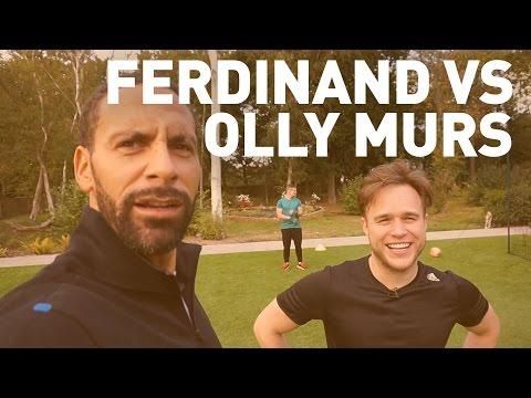 Olly Murs vs Rio Ferdinand | TALKIN' TWO TOUCH
