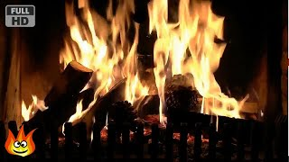 Hissing and Crackling Pine Cone Fireplace with Relaxing Fire Sounds (HD)