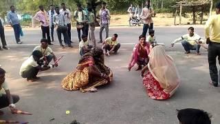 Bundelkhand traditional dance monia on diwali 2016