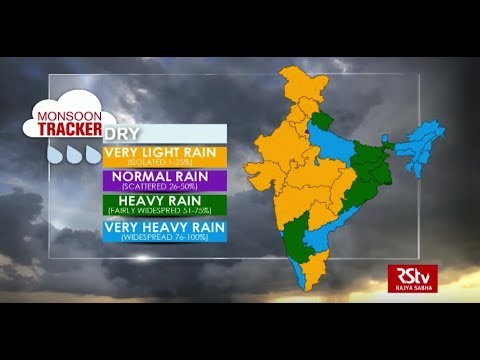 Today's Weather : Monsoon Tracker | Aug 01, 2018