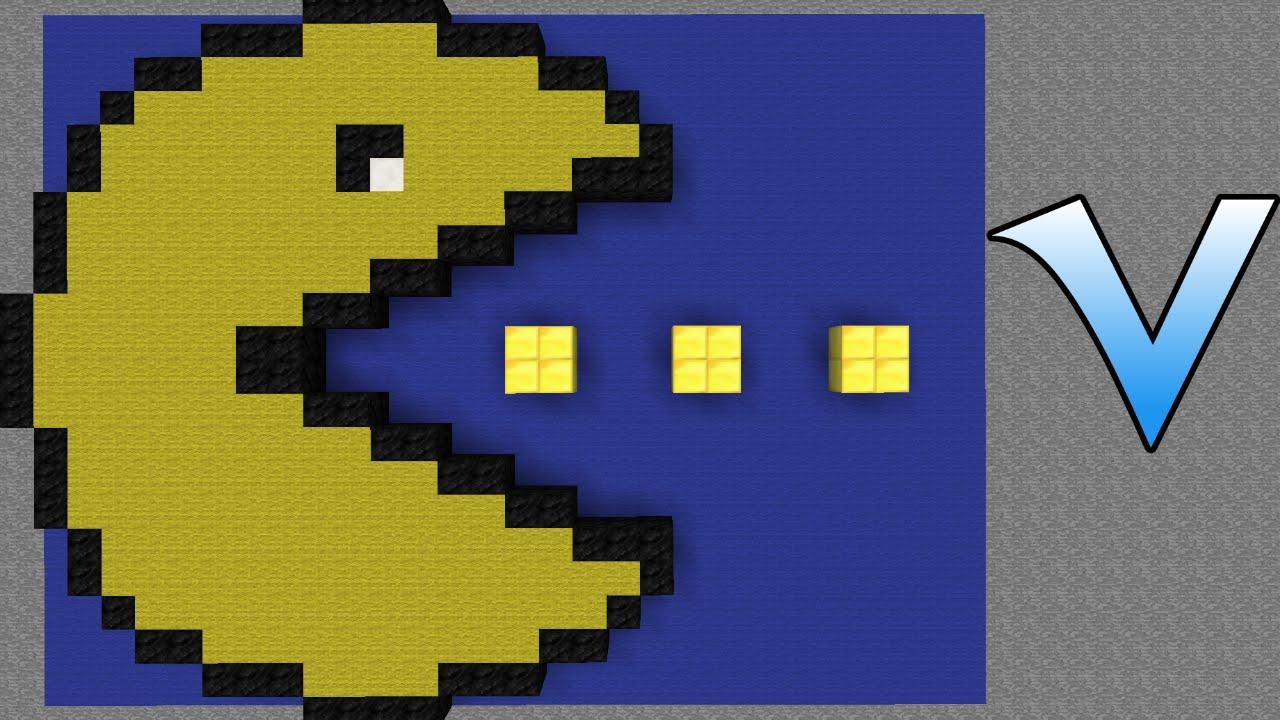 Pac Man pixel art - Time-Lapse - YouTube  Pac Man pixel a...