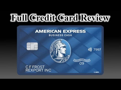 Credit Card Review: American Express Blue Business Cash Card