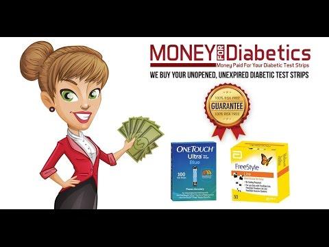 Cash for Diabetics Now | Cash for Diabetic Test Strips | Sell Diabetic Test Strips