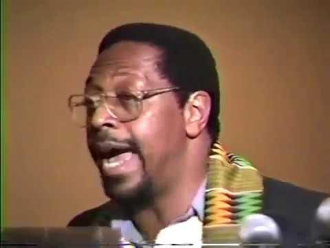 Mhenga Amos N. Wilson: Moving Beyond White Supremacy, Human & Civil Rights Toward Revolution