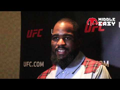Corey Anderson talks striking against Cummings at UFC Fight Night 128