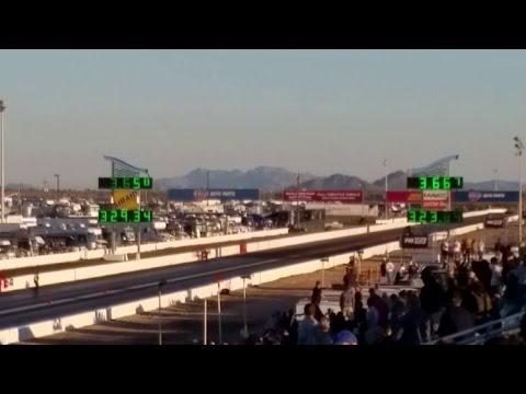 2017 Arizona Nationals Top Fuel Record! Leah Pritchett