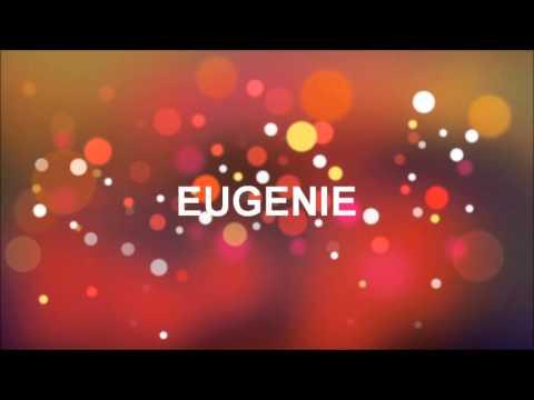 Conosciuto TANTI AUGURI EUGENIE - YouTube YZ81