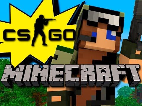 Minecraft - CSGO In Minecraft?