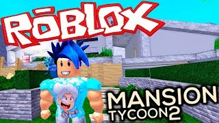 I MOUNT MY OWN MANSION YOUTUBER IN ROBLOX Gameplay English