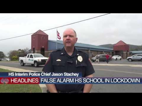 Hot Springs School Lock Down