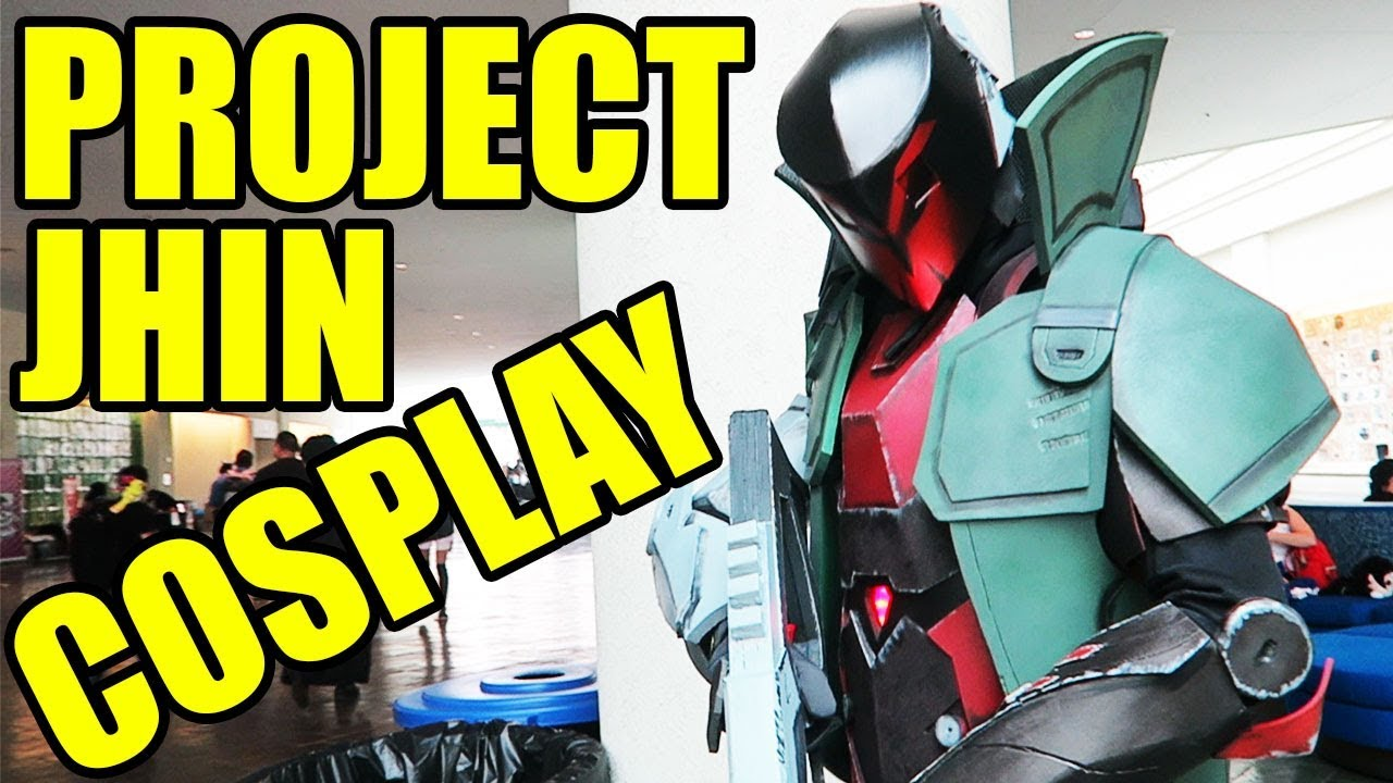 Project Jhin Cosplay League Of Legends Ft Ethan Fox Cosplay