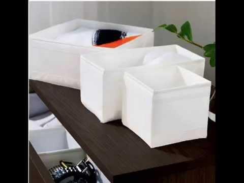 ikea skubb storage box drawer organizer multiuse set of 6 expandable drawer organizer youtube. Black Bedroom Furniture Sets. Home Design Ideas