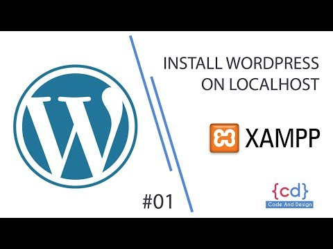 Install WordPress on localhost – xampp Step By Step | WordPress for Beginners | #1