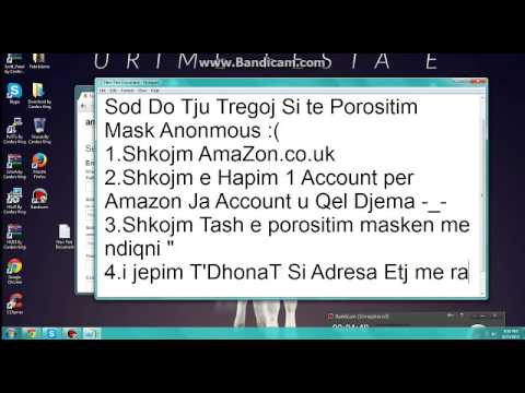 Si Te Porositim Mask Anonmous Ne Amazon.co.uk