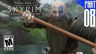 【SKYRIM 200+ MODS】Nord Gameplay Walkthrough Part 8 [PC - HD]