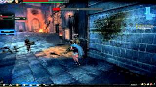 Vindictus: Evie vs Fiona pvp only objects fight