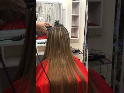 Нарастить волосы салон красоты La Familia Salon семейная парикмахерская Гагарина 11 Бровары