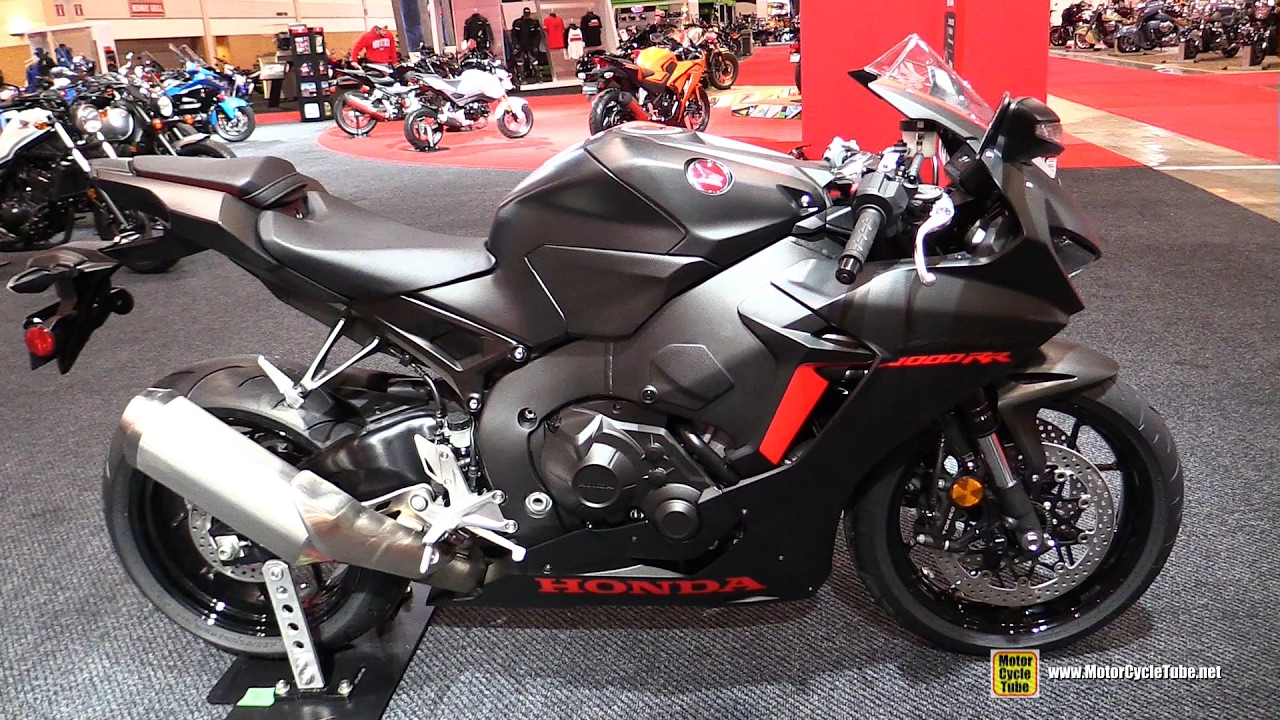 2017 Honda Cbr1000rr 25th Anniversary Walkaround Toronto Motorcycle Show You