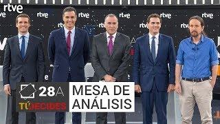 Análisis tras el debate a cuatro en RTVE