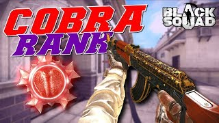 Reaching Cobra Rank on Black Squad