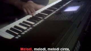 Gambar cover Melodi Cinta Rhoma Irama Karaoke Yamaha PSR S750