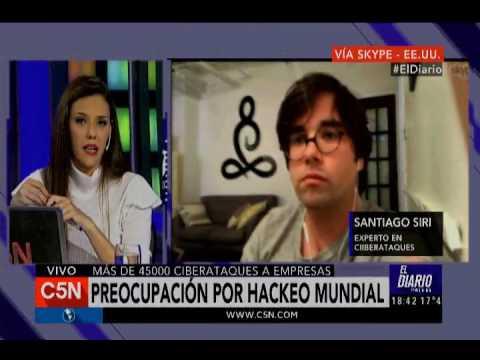 C5N - El Diario: Ataque hacker en el mundo