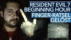 Resident Evil 7: Beginning Hour - Video-Guide: So löst man das Finger-Rätsel!