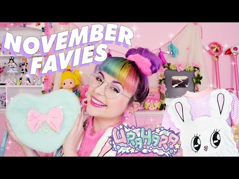 NOVEMBER FAVIES ♡ EstherLovesYou x Lazy Oaf and ANIME CHATS