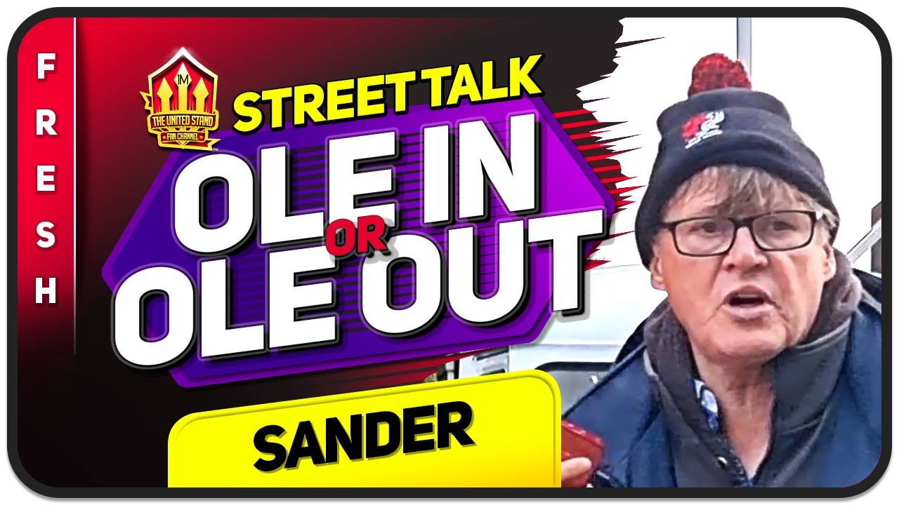 Download OLE IN OR OLE OUT? Manchester United Fans REACT   Sander on The Street