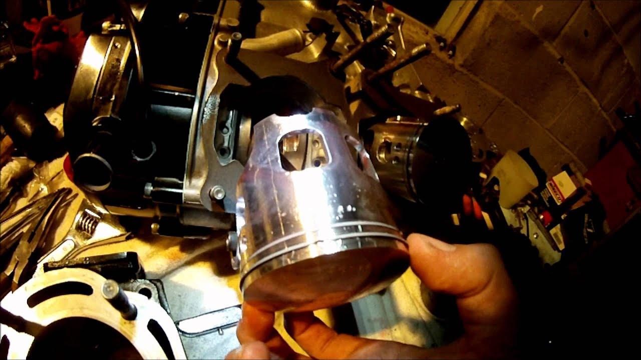 Yamaha Banshee Stroker Topend Rebuild Part 3 of 5