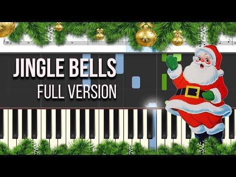 How to play Jingle Bells - on the piano - Tutorial - Igor Platonov | Sheets Music