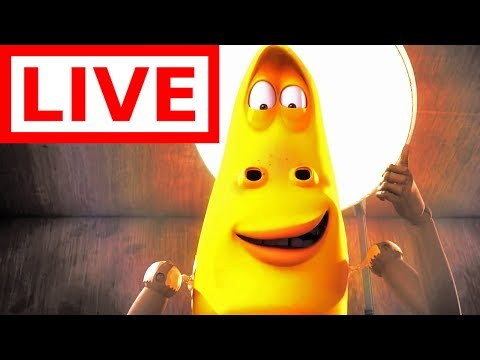 🔴LIVE  LARVA  YELLOW HAS GOT ARMS ! 💪Full Episodes  Cartoons For Children  WildBrain