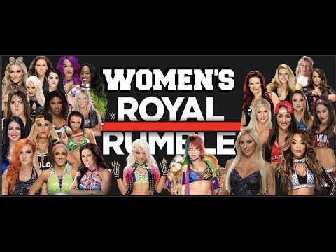 First Ever Women's Royal Rumble | WWE2K18 PS4