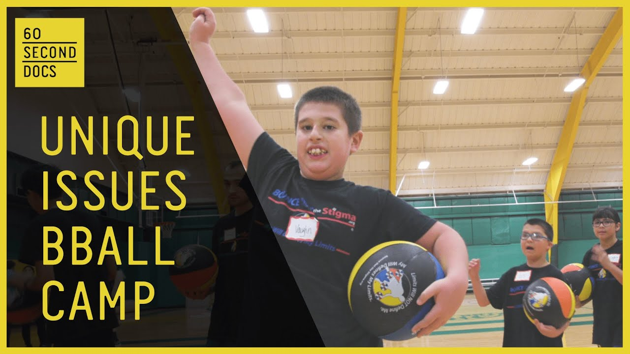 Unique Issues Basketball Camp | Bounce Out The Stigma Project