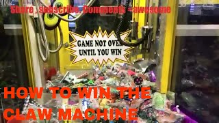 HOW TO WIN THE CLAW MACHINE  🍬CANDY DEPOT🍭ARCADE GAME🍬