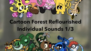 My Singing Monsters - Cartoon Forest Reflourished - Individuals 1/3