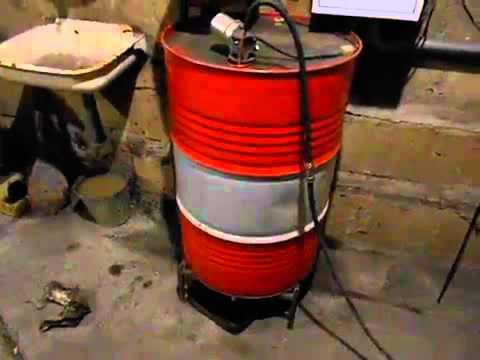 Самодельный водяной котел для отопления частного дома 196