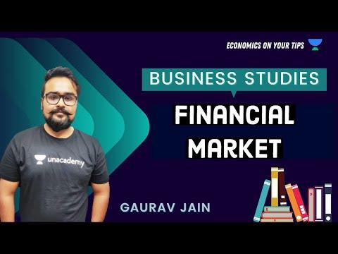 Money Market | Financial Market | Business studies | Class 12 | Economics On your Tips | video 32