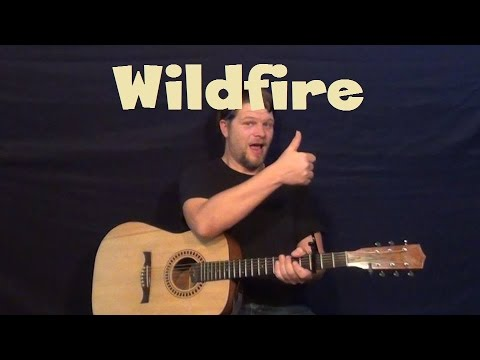 Wildfire (John Mayer) Easy Guitar Lesson Standard Tuning Strum Chord Lick TAB How to Play