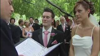 British Bride and Groom's Wedding Ceremony At Central Park NYC | Pro Wedding Videographer Toronto