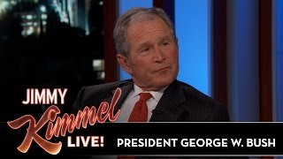 President George W. Bush Reveals Where He Gets His News