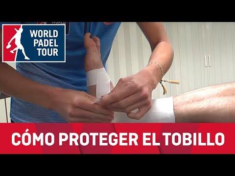 Cita con el fisio WPT: Vendaje preventivo de tobillo