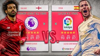 FIFA 20 - La Liga ALL-STARS vs. Premier League ALL-STARS! - FIFA 20 Career Mode